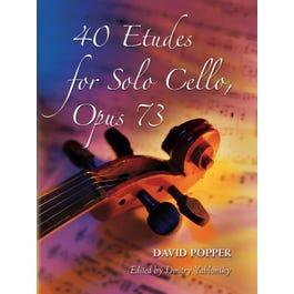 Alfred David Popper 40 Etudes for Solo Cello Opus 73