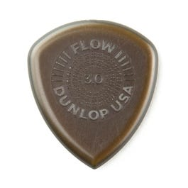 Dunlop Flow Jumbo Guitar Picks, 3 Pack, 3.0 mm