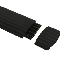 Defender Office End Ramp for 85160 Cable Crossover, Black