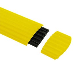 Defender Office End Ramp for 85160 Cable Crossover, Yellow