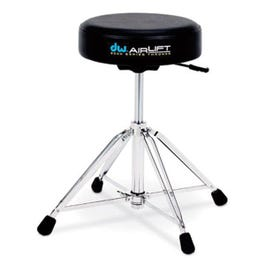 Image for 9100AL Pneumatic Air Lift Round Base Drum Throne from SamAsh
