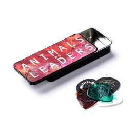 Dunlop Animals As Leaders Pick Tin, 6 Pick Variety Pack