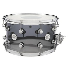 """Image for Design Series 8""""x14"""" Acrylic Snare Drum (Smoke Grey) from SamAsh"""