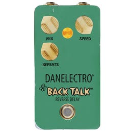 Image for Back Talk Reverse Delay Guitar Effect Pedal from SamAsh