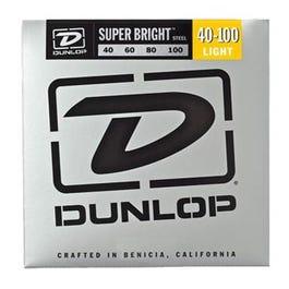 Dunlop Super Bright Steel Bass Strings, Light, 40-100
