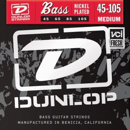 Image for DBN45105 Nickel Medium Electric Bass Strings 45-105 from SamAsh
