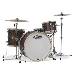 """Image for Concept Maple Classic Series 3-Piece Shell Kit with 26"""" Bass Drum - Walnut with Natural Hoops from SamAsh"""