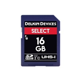 Image for 16GB Select UHS-I SDHC Memory Card from SamAsh