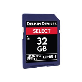 Image for 32GB Select UHS-I SDHC Memory Card from SamAsh