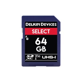 Image for 64GB Select UHS-I SDHC Memory Card from SamAsh