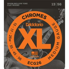 Image for ECG26 Chromes Flat Wound Electric Guitar Strings
