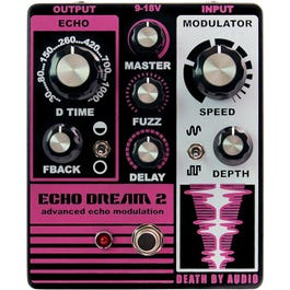 Image for Echo Dream 2 Modulating Delay Effect Pedal from SamAsh