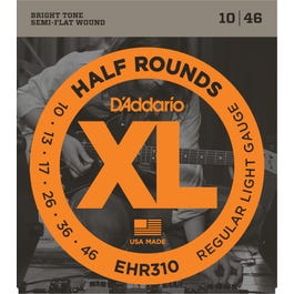 Image for EHR310 Reg Light Half Rounds (10-46) Electric Guitar Strings from SamAsh