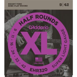 Image for EHR320 Super Light Half Rounds (9-42) Electric Guitar Strings from SamAsh