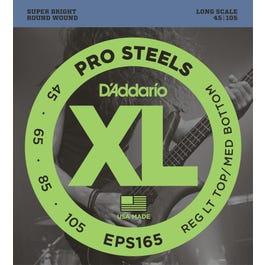Image for EPS165 Reg Light Top Med Bottom ProSteels Electric Bass 4 String Set from SamAsh
