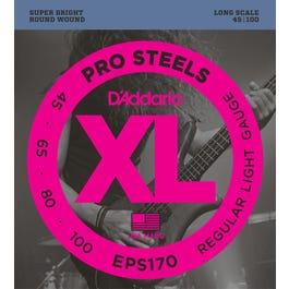 Image for EPS170 Reg Light ProSteels Electric Bass 4 String Set from SamAsh