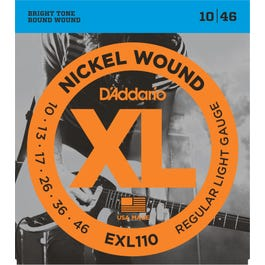 Image for EXL110 XL Reg Light  Electric Guitar Strings from SamAsh