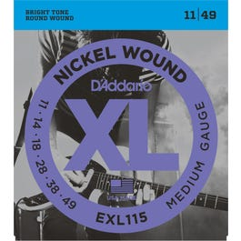 Image for EXL115 XL Blues/Jazz Rock Electric Guitar Strings from SamAsh