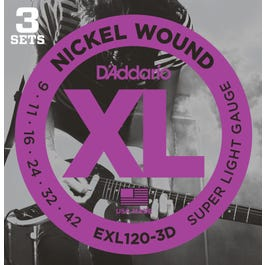 Image for EXL1203D Set Super Light Electric Guitar Strings