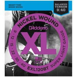 Image for EXL120BT Nickel Wound Electric Guitar String