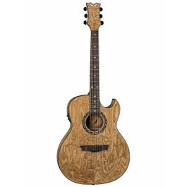 Image for Exhibition Thin Body Quilt Ash with Aphex Acoustic-Electric Guitar from SamAsh
