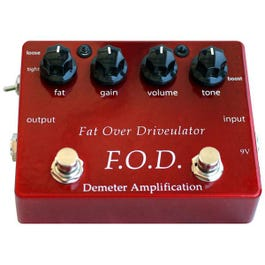 Image for FOD-1 Fat Over Driveulator Effect Pedal from SamAsh