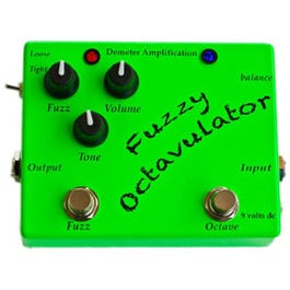 Image for FZO-1 Fuzzy Octavulator Effect Pedal from SamAsh