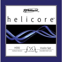 Image for Helicore Violin String Set (4/4 Size) from SamAsh