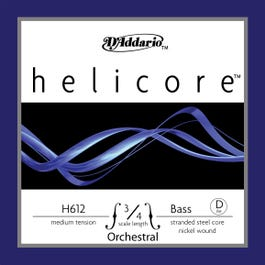 Image for H612 Helicore 3/4 Nickel Upright Bass String (D from SamAsh