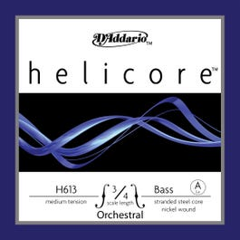 Image for H613 Helicore 3/4 Nickel Double Bass String (A from SamAsh