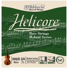 Image for Helicore Hybrid Double Bass Strings from SamAsh