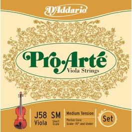 "D'Addario Pro Arte Viola Short Scale String Set (15"" and Under)"