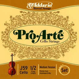 Image for Pro Arte 1/2 Size Cello String Set from SamAsh