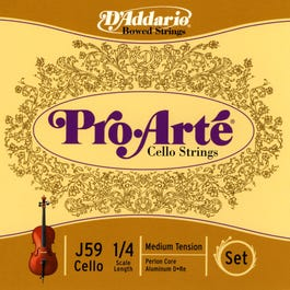Image for Pro Arte 1/4 Size Cello String Set from SamAsh