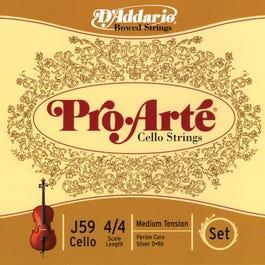 Image for Perlon Core 4/4 Cello Strings from SamAsh