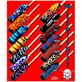 Image for Wicked Stick Holder (Assorted Patterns) from SamAsh