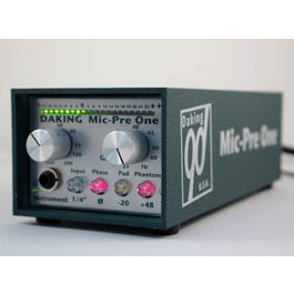 Image for Mic Pre One Single Channel Mic Preamp from SamAsh