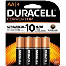Image for AA Copper Top Batteries Four Pack from SamAsh