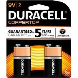 Image for 9V Copper Top Batteries Two Pack from SamAsh