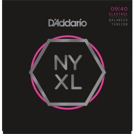 D'Addario NYXL0940BT Balanced Tension Electric Guitar Strings, Super Light, 09-40