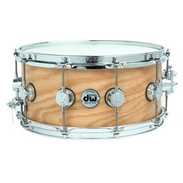 """Image for Collector's Series Natural Hard Satin over Oak Snare Drum - 6.5"""" x 14"""" from SamAsh"""
