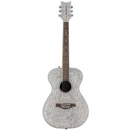 Image for Pixie Acoustic Guitar (Silver Sparkle) from SamAsh