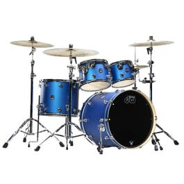 Image for Performance Series 4-Piece Shell Pack - Electric Blue Matte Lacquer from SamAsh