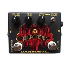 Image for Red Light District Distortion Effect Pedal from SamAsh