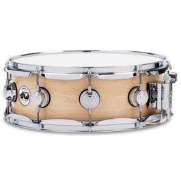 """Image for Collector's Series Super Solid Maple Snare Drum - Satin Oil Finish - 5.5"""" x 14"""" from SamAsh"""
