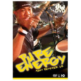 Image for Tony Royster Jr Pure Energy DVD from SamAsh