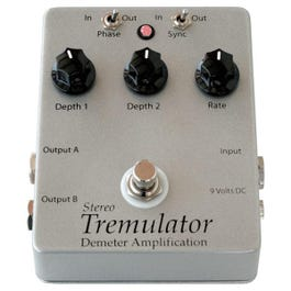 Image for TRM-2s Stereo Tremulator Effect Pedal from SamAsh