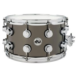 """Image for Collector's Series Nickel Over Brass Snare Drum - 8"""" x 14"""" from SamAsh"""