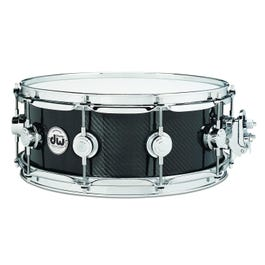 """Image for Collector's Series Carbon Fiber Snare Drum - 6.5"""" x 14"""" from SamAsh"""
