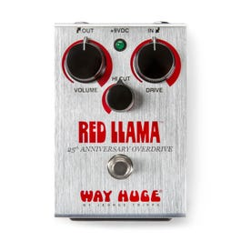 Image for Red Llama 25th Anniversary Overdrive Effect Pedal from SamAsh
